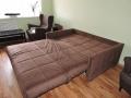 некачественный диван с браком