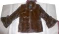Полушубок женский из натурального меха норки, заявленной торговой марки *** (размер 46).