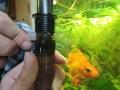 бракованный фильтр для аквариума