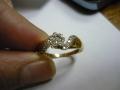 некачественное ювелирное изделие украшение кольцо с браком